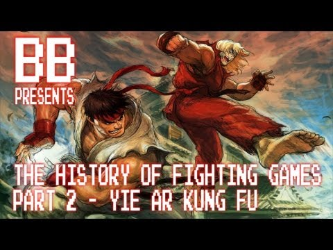 The History Of Fighting Games Part 2 - Yie Ar Kung Fu