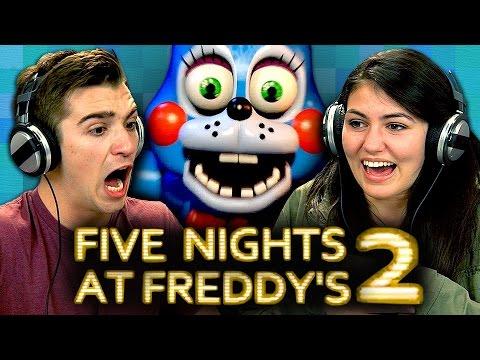 FIVE NIGHTS AT FREDDY'S 2 (Teens React: Gaming)