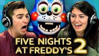 FIVE NIGHTS AT FREDDY'S 2 (Teens React: Gaming)