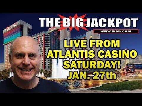 ★ RAJA SLOT PLAY ★ from The Atlantis Casino in Reno!