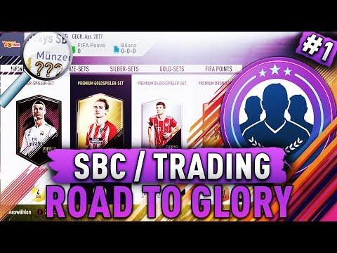 FIFA 18: SBC / TRADING Road to Glory 🏆😳 Von 0 zum MILLIONÄR?! PERFEKTER Start + 25K Pack - Folge 1