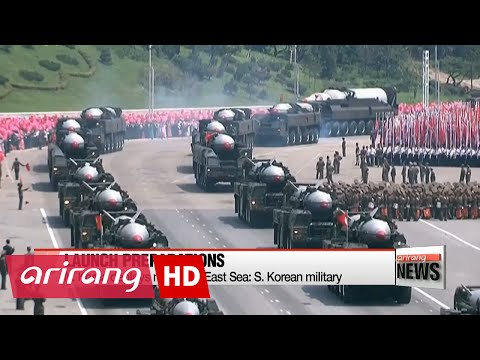 N. Korea shows signs of missile launch to East Sea