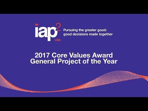 "2017 IAP2 USA Core Values Awards TENNESSEE DEPT OF TRANSPORTATION ""25-Year Long-Range Plan"""