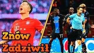 4 gole Lewandowskiego, 2 czerwone kartki Brugge za cieszynkę - Liga Mistrzów 2019/2020