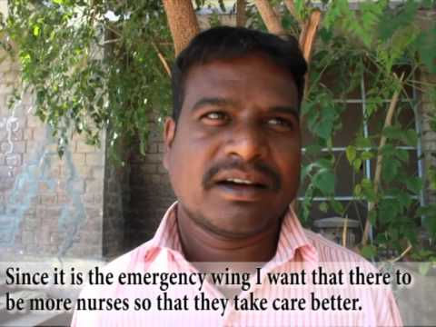 Inadequate nursing staff at Victoria Hospital, Bangalore.