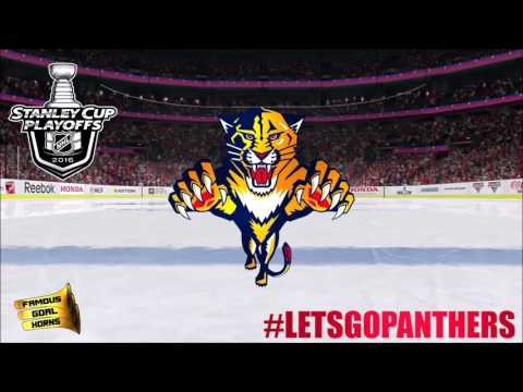 f556d9bfcef Florida Panthers 2016 Playoffs Goal Horn  HistoryStartsNow - YouTube