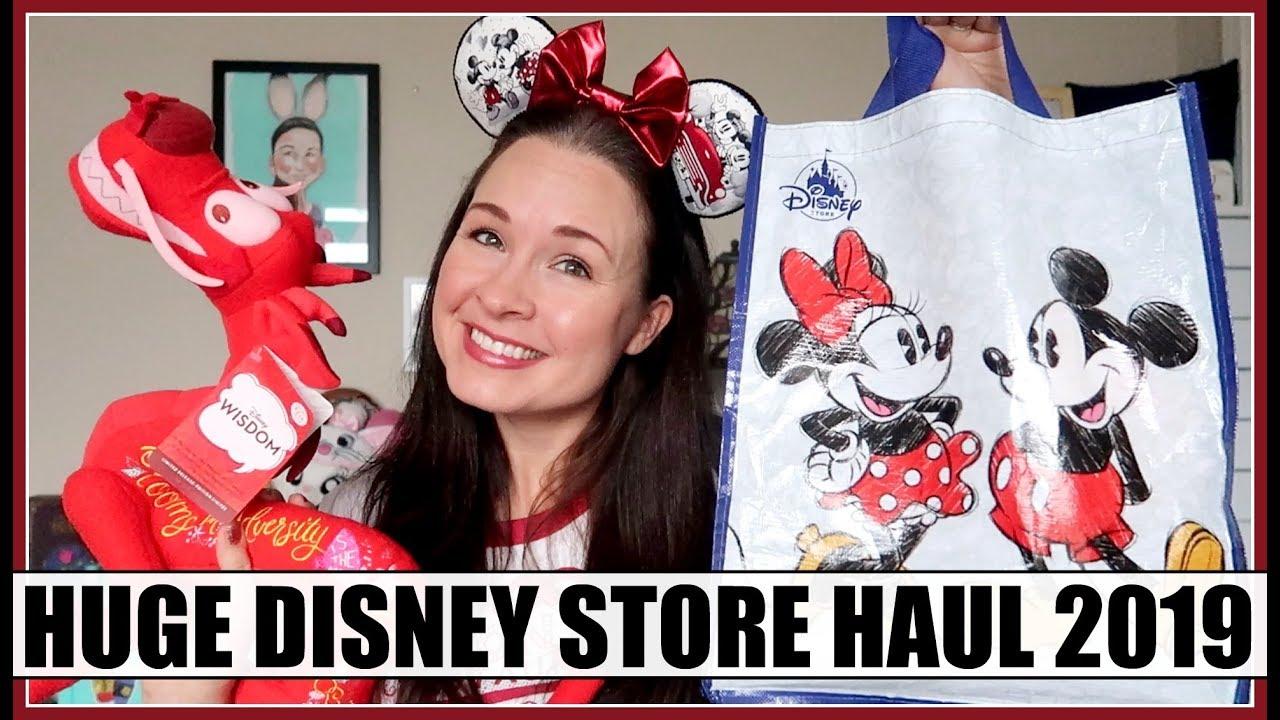 DISNEY STORE & SHOP DISNEY HAUL! Disney Wisdom & More! February 2019