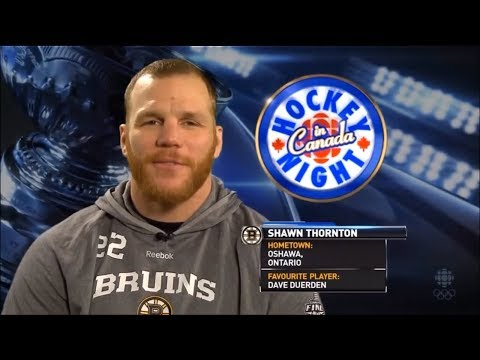 Thank you Thorty - Shawn Thornton's best Bruins moments