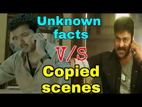 Top 5 Unknown Copied Scenes OfKhaidi No 150 v/sKhaki Aur Khiladi (kaththi) Hindi Dubbed Movie
