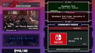 Resident Evil by RawDerps in 41:44 - SGDQ2017 - Part 53
