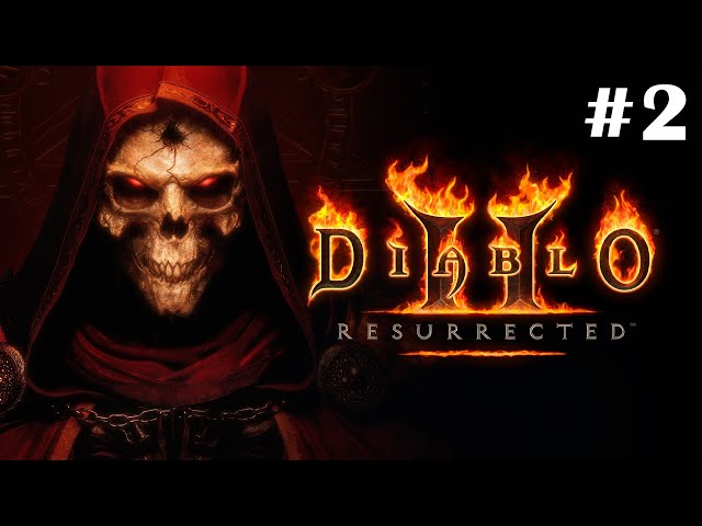 Diablo II Resurrected [Walkthrough Part 2] [Technical Alpha] [1440p] [Ultrawide] - Gameplay PC