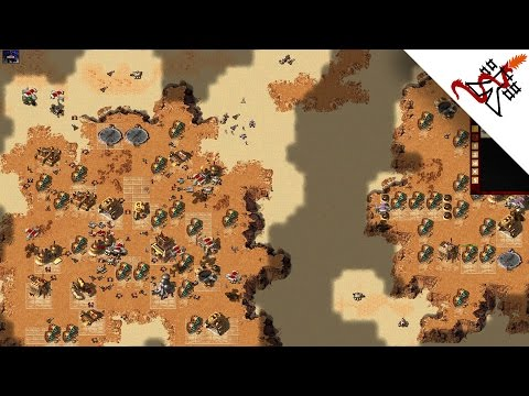Dune 2000 - 4v4 INTENSE ATTACKS