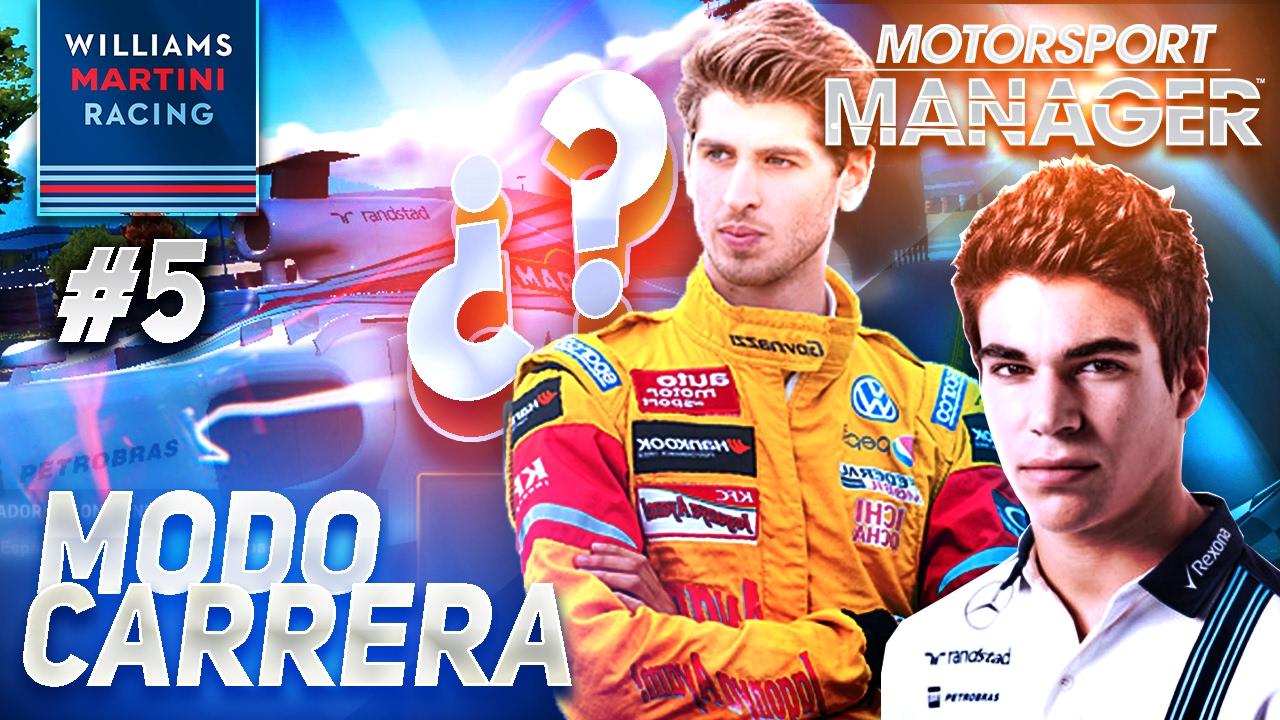 4121bd26137 NUEVO PILOTO EN EL EQUIPO! Motorsport Manager PC Modo Carrera ...