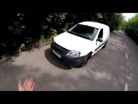 Lada Largus Фургон - Движение с комменариями (60p)