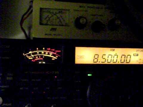 Radio Libya on 8500 Khz 2011 March 13. 1919 Ut