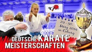 Deutsche KARATE Meisterschaften 2014 in Coburg DKV
