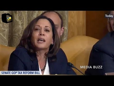 Kamala Harris Expresses Her Disgust with the Republican Tax Reform Bill