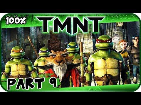 Tmnt 2007 Movie Game Walkthrough Part 9 100 X360 Pc Ps2