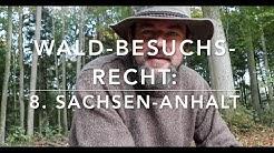 Sachsen Anhalt - Waldbesuchsrecht nach Bundesländern (8)