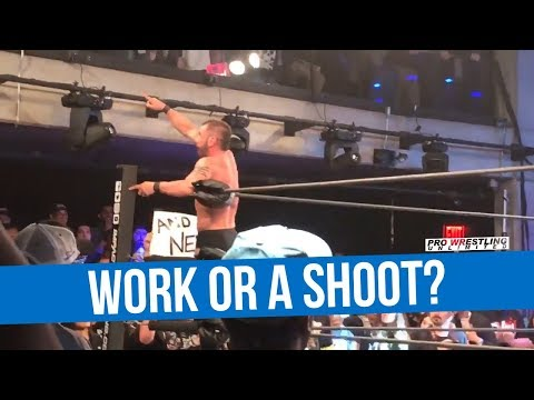 Odd Finish To Bound For Glory, Was It A Work Or  A Shoot?