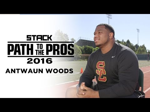 Path to the Pros 2016: Antwaun Woods Follows His Passion to Play in the NFL