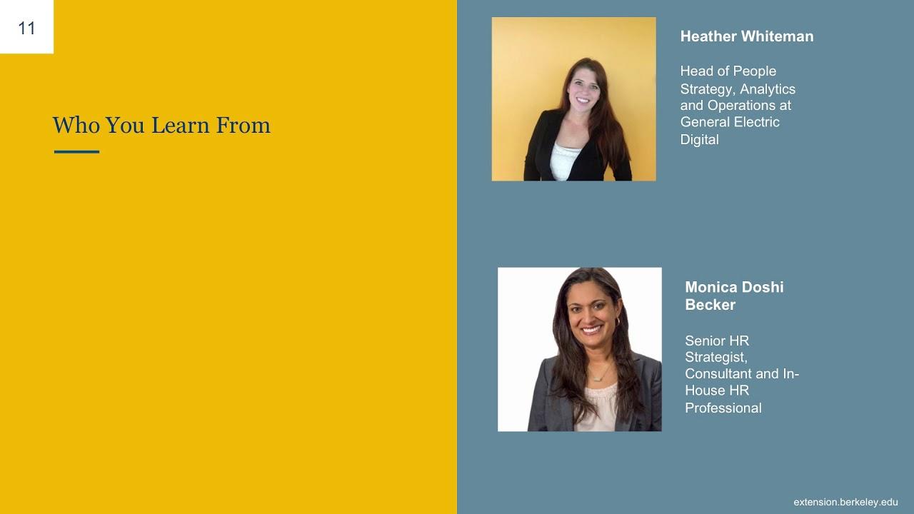 Certificate Program in Human Resource Management | UC