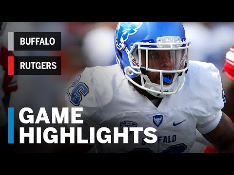 Highlights: Buffalo Bulls vs. Rutgers Scarlet Knights | Big Ten Football
