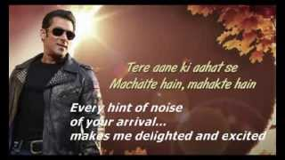 Tere Naina Maar Hi Daalenge :Jai Ho ENGLISH TRANSLATION Full Song (Audio)