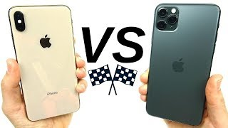 iPhone XS Max vs iPhone 11 Pro Max Speed Test