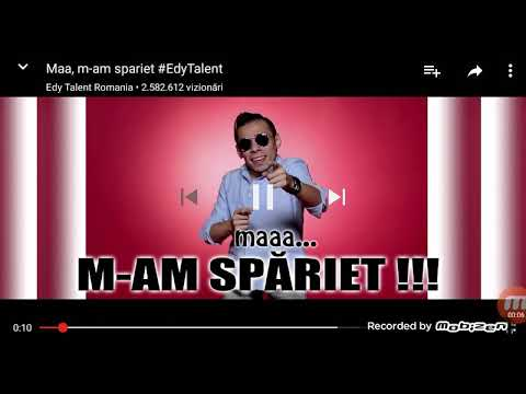 Edy Talent mam speriet
