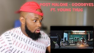 Baixar Post Malone - Goodbyes ft. Young Thug | REACTION