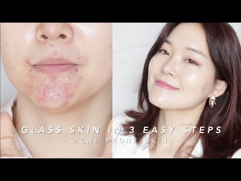 How to get Glass Skin in 3 steps #lazygirlhack | 단 3단계� 광채피부�들기!