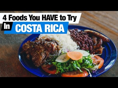 Central American Food - 4 Dishes To Try In Costa Rica 🇨🇷 (Americans Try Costa Rican Food)