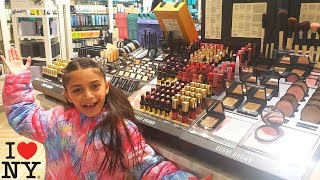 Shopping for Makeup in New York City (Vlog)
