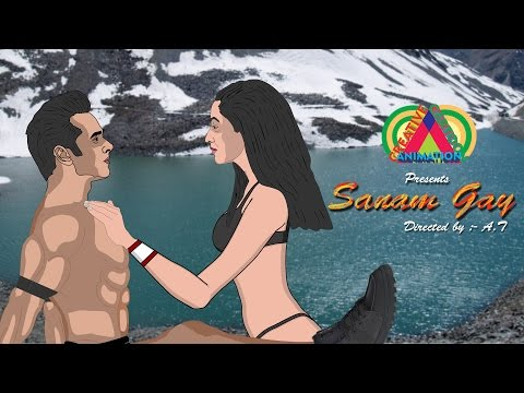 Sanam Re spoof | Pulkit Samrat, Yami Gautam, | Creative Cartoon Animation