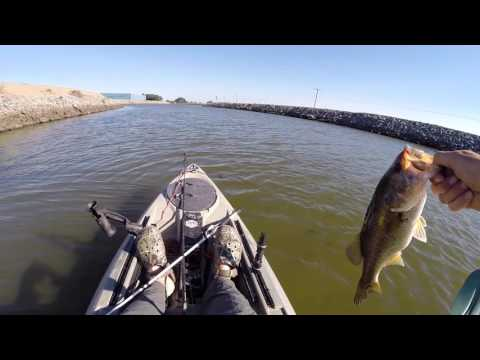 Kayak Fishing Whiskey Slough - California Delta