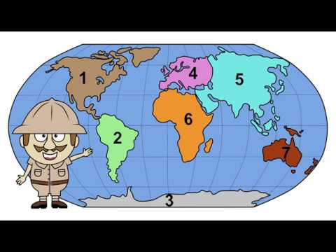 Seven Continents by Peter Weatherall