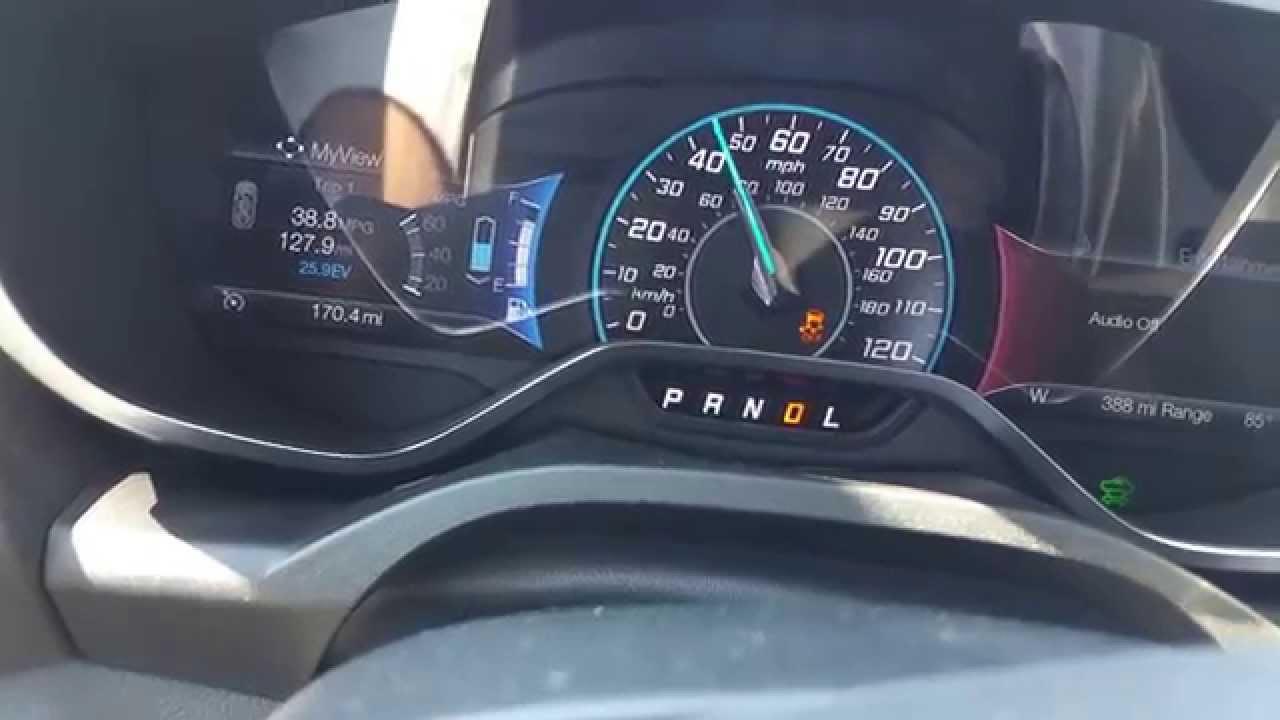 2017 Ford C Max Energi 0 60 Mph