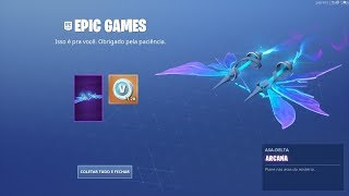 ASA-DELTA ARCANA FOR FREE AND V-BUCKS REIMBURSED BY EPIC GOMES! A HAPPY ENDING! Fortnite