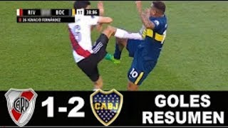 River Plate vs Boca Juniors - 1-2 | Goals - Liga Argentina 05/11/2017 HD