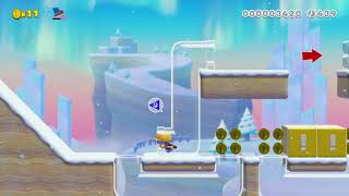 Hammering on thin ice by looygi - Super Mario Maker 2 - No Commentary