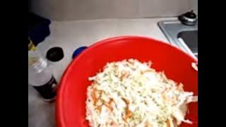 Easy Coleslaw Recipe | Recipe Of Healthy Food | Food Campaign