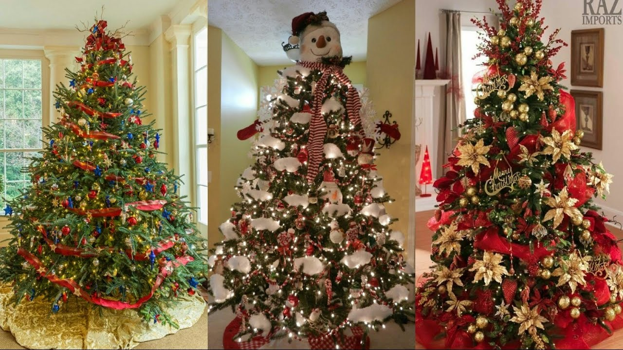 Ideas para decorar el rbol de navidad 2017 tendencias for Decoracion para arboles navidenos