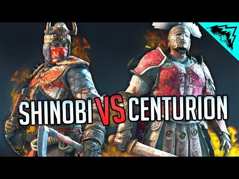 SHINOBI & CENTURION Gameplay, Movesets, Tips, and Executions - For Honor Season 2