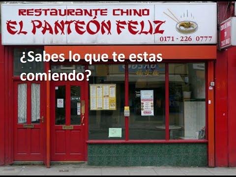 Restaurantes chinos sabes lo que comes youtube - Restaurante chino jardin feliz ...