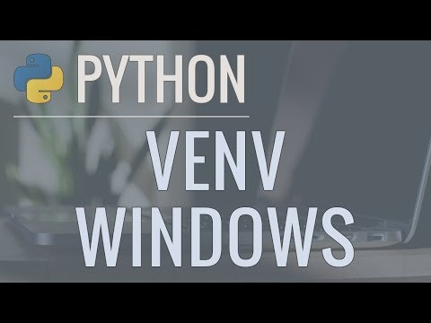 Python Tutorial: VENV (Windows) - How to Use Virtual Environments with the Built-In venv Module thumbnail