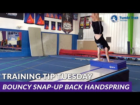 Bouncy Snap-up Back Handspring