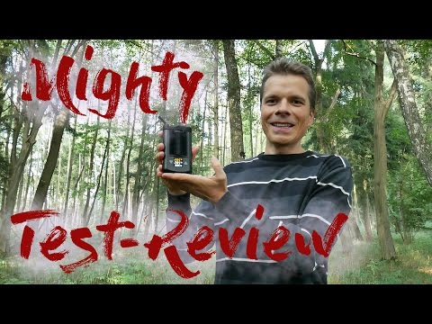 Mighty Vaporizer Test/Review deutsch