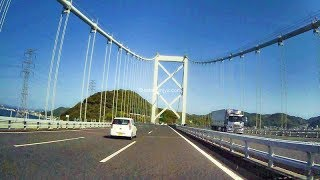 関門海峡ドライブ(山口県下関市~福岡県北九州市)