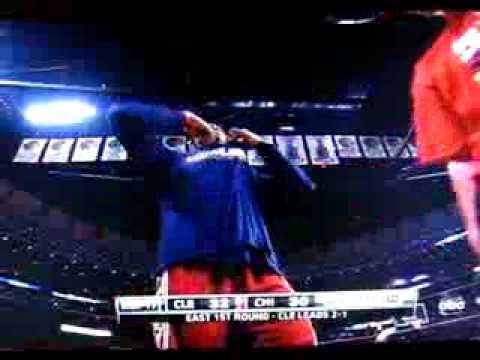 Lebron Degrades Ballboy at Bulls game